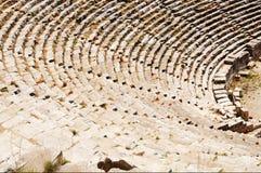 Ancient theater ruins in Myra, Turkey. Stock Photos