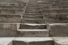 Ancient Theater Stairs Stock Photo