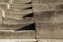 Ancient Theater Stairs, Orange, France Stock Images