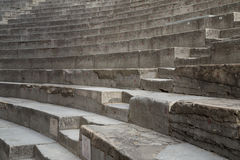 Ancient Theater Stairs and Row of Seats. Orange, France Royalty Free Stock Photos