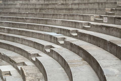 Ancient Theater Stairs and Row of Seats. Orange, France Royalty Free Stock Photography