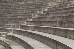 Ancient Theater Stairs and Row of Seats. Orange, France Stock Image