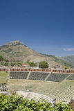 Ancient theater taormina Royalty Free Stock Photo