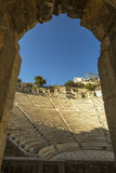 Ancient theater under Acropolis of Athens, Greece. Travel. Royalty Free Stock Photo