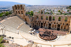 Ancient theatre Royalty Free Stock Image