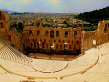 Ancient theatre  Stock Image