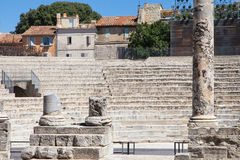 Ancient Theatre of Arles Stock Images