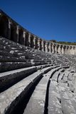 Ancient theatre of Aspendos in Turkey Stock Photos