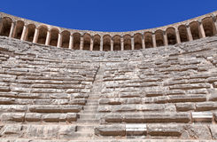 Ancient theatre of Aspendos in Turkey Royalty Free Stock Image
