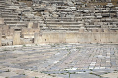 Ancient theatre of dionysus. Athens Greece stock images