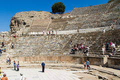 Ancient Theatre of Ephesus Stock Photo