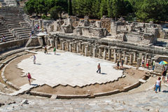 Ancient Theatre of Ephesus Stock Photography