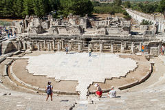 Ancient Theatre of Ephesus Stock Photos