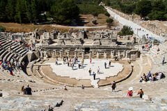 Ancient Theatre of Ephesus Royalty Free Stock Photo