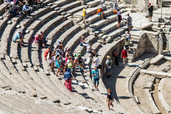 Ancient Theatre of Ephesus Royalty Free Stock Images