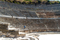 Ancient Theatre of Ephesus Stock Images