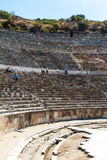Ancient Theatre of Ephesus Royalty Free Stock Photography