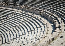 Ancient Theatre in Epidaurus also Epidauros, Epidavros Stock Photo