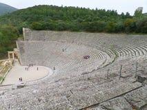 Ancient Theatre of Epidaurus, Greece, UNESCO World Heritage stock images