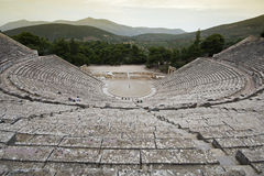 Ancient theatre Royalty Free Stock Photos