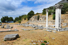 Ancient theatre at Filipi, Greece Stock Photography