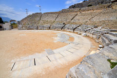 Ancient theatre at Filipi Royalty Free Stock Images