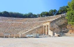 Ancient theatre, Greece Stock Photo