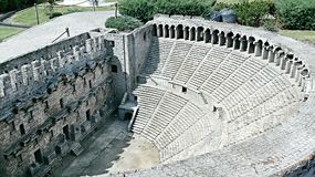 Ancient Theatre in Istanbul Stock Images