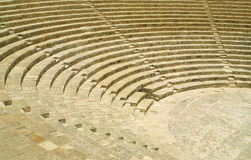 Ancient theatre in Kourion. The fragment of ancient theatre in Kourion, Cyprus Royalty Free Stock Image