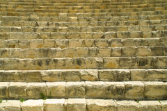 Ancient theatre in Kourion Royalty Free Stock Photo