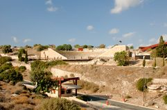 Ancient theatre in Kourion Royalty Free Stock Images