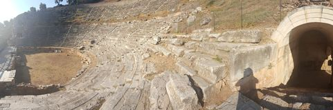 Ancient Theatre stock photo