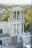 Ancient Theatre in the Old Plovdiv, Bulgaria Royalty Free Stock Photo