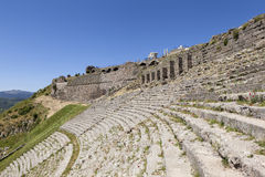 Ancient Theatre. Pergamum. Turkey. Stock Photography