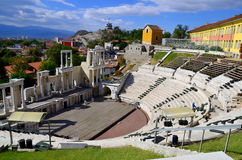 The ancient theatre of Philippopolis Royalty Free Stock Images