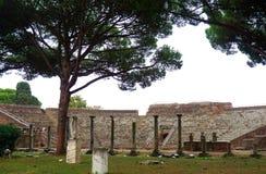 Ancient theatre Stock Photo