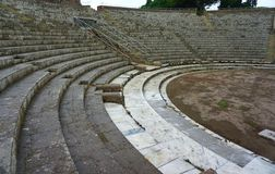 Ancient theatre Stock Photography