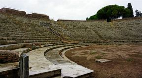 Ancient theatre Royalty Free Stock Photography