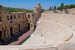 Ancient Theatre. Royalty Free Stock Images
