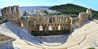 Ancient theatre Stock Photos