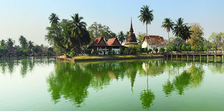 Ancient Themple in Thaiand Royalty Free Stock Photos