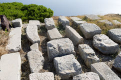 Ancient Thera. Royalty Free Stock Images