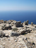 Ancient thira 11 Stock Photography
