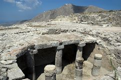 Ancient Thira Stock Image