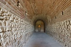 Ancient Thracian tomb Heroon. In Pomorie Stock Photography