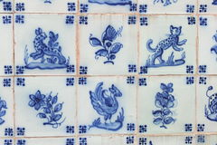 Ancient tile Stock Image
