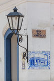 Ancient tiles of the post office in Paraty - RJ Stock Photography