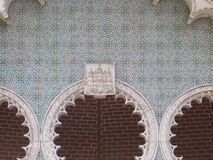 Ancient tiles in Sintra Stock Image