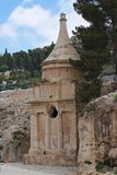 Ancient Tomb of Absalom in Jerusalem Royalty Free Stock Photos