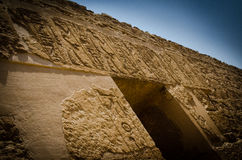 Ancient tomb entrance Royalty Free Stock Photography
